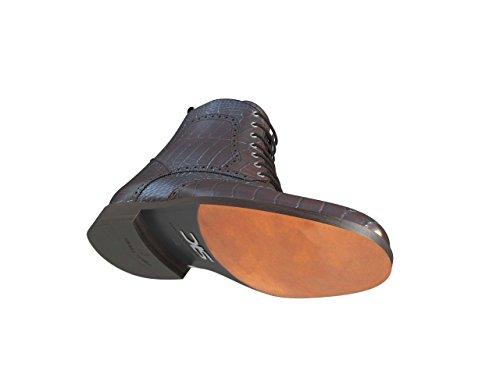 DIS - Colombo - Wingtip Boot - Homme Marron