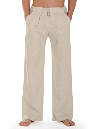 SCHAZAD Leinenhose Essential-Sport (Unisex), Farbauswahl, Made in Germany