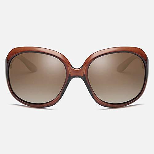 YUHANGH Sonnenbrillen Frauen Fahren Brillen Big FrameFrauen Sonnenbrillen Polarisierte Goggle