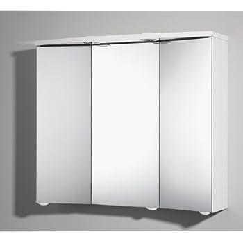 Format 4013251849706 spiegelschrank trava mdf holz wei for Amazon spiegelschrank