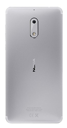Nokia 6 (Matte Black/Silver, 32GB)