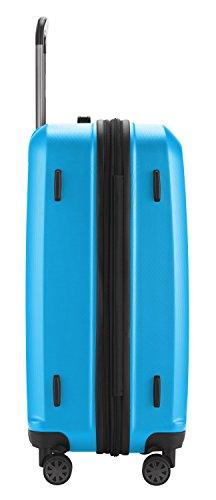 HAUPTSTADTKOFFER - X-Berg – Koffer Trolley Hartschale, TSA, 65 cm, 89 Liter, Cyanblau - 4