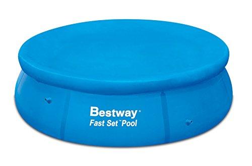 bestway- 12ft fuß Fast Set Pool Cover (Pool nicht enthalten) bw58034