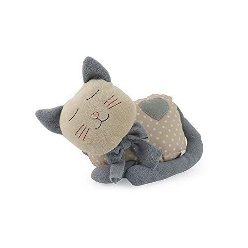 Galileo casa fermaporta gatto pois 1kg, poliestere, beige, unica