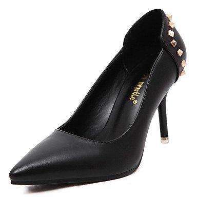 Moda Donna Sandali Sexy donna Classic Tacchi rivetto Punta tacchi a spillo/Pompe Office & Carriera / Party & Sera scarpe di Office Red
