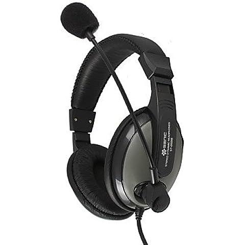 PIGE Auriculares Sennic ST-2688 (con banda) para MP3 / Tablet / Móvil / ordenador con micrófono caliente de la venta de música / llamada