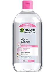 Garnier Skin Active Agua Micelar Clásica para Pieles Normales Todo en 1, Formato Maxi -