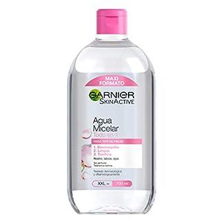 Garnier Skin Active Agua Micelar Clásica para Pieles Normales Todo en 1, Formato Maxi – 700 ml