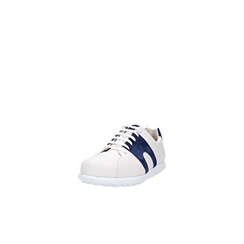 Camper Sneakers Pelota XL M'S Leder Weiss und Blau Bianco-Blu