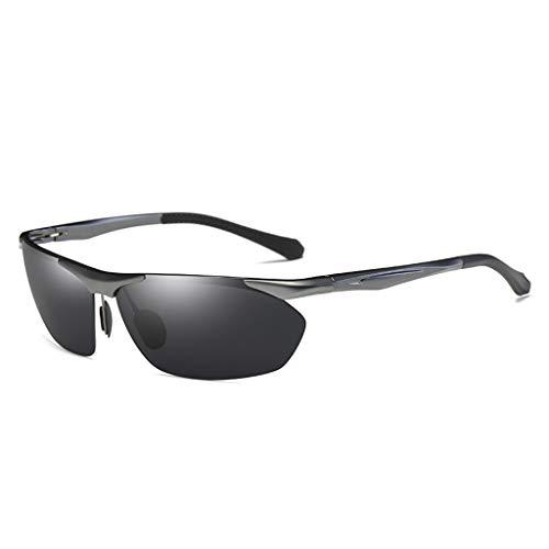 Jinxiaobei Herren Sonnenbrillen Sportbrillen.Driving Sunglasses.Polarized Sunglasses.Superlight Frame Design.for Herren und Damen.UV400 Protection.Classic Sonnenbrille. (Color : Green) (Spiegel In Voller Länge, Grün)