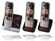 Panasonic KX-TG6723GB Black, KX-TG6723GB (Panasonic Office-telefon-system)