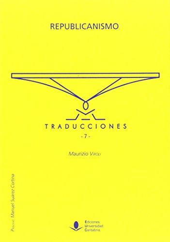Republicanismo (Traducciones 7) (Difunde)