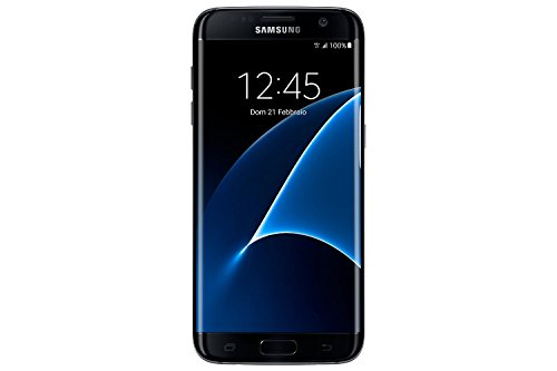 "Samsung Galaxy S7 Edge G935F Smartphone, Display 5.1"" SAMOLED, Memoria Interna da 32 GB, 4 GB RAM, Processore Octa-Core, Nero, Vodafone Hero"
