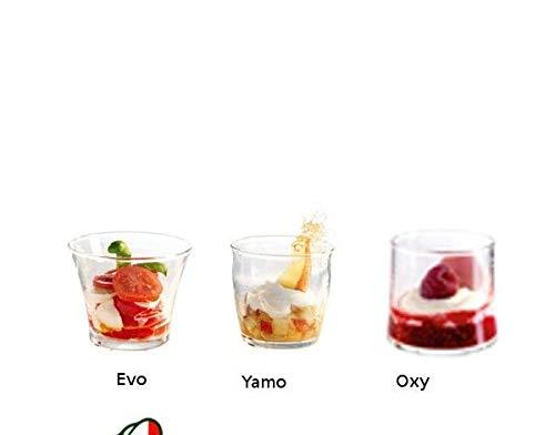 Bicchiere Konomik vetro trasparente da 11 cl a 16cl Durobor -Tipo: 11 cl