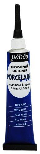 Pebeo Porcelaine 150 Porzellanfarbe / Konturenfarbe, 20ml, Ming Blau