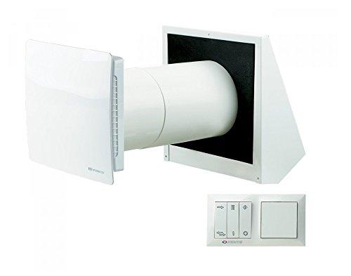 Vents/Twin Fresh RA 150/controllata wohnraum Decentrata di ventilazione con recupero del calore/kwl (controllata aerazione)/Funzionamento Silenzioso (14-29DBA)/Ø150/inkl comando
