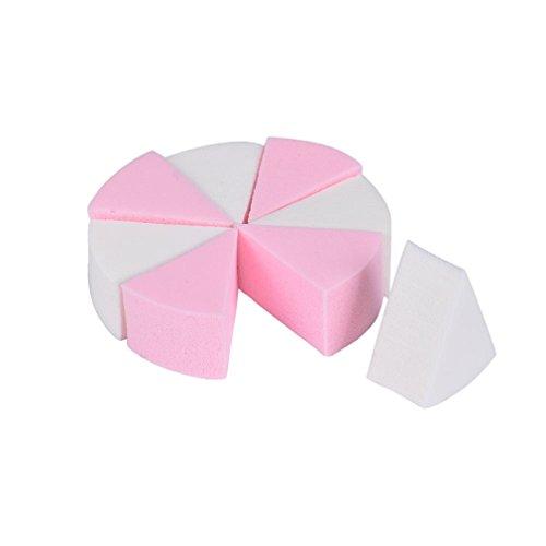 Tonsee 8ST/Satz MakeUp kosmetische Dreieck Foundation Schwamm Puder Gesichts Puff Latex Puderquaste Schönheit Werkzeuge -