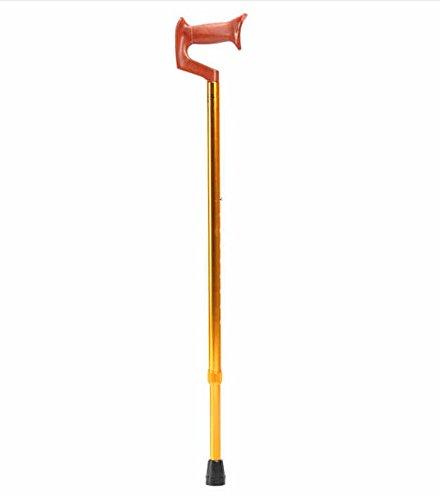 ° Verstellbarer Gehstock für ältere Menschen Gehstöcke Krücken Ältere Behinderten rutschfeste Höhe einstellbare Walker Achselhöhle Krücken 68–92cm höhenverstellbar (Schuhe Walker Breiten)