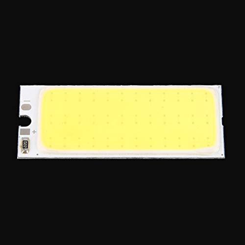 Blanco cálido 36 COB LED Chip Panel bombilla 220mA