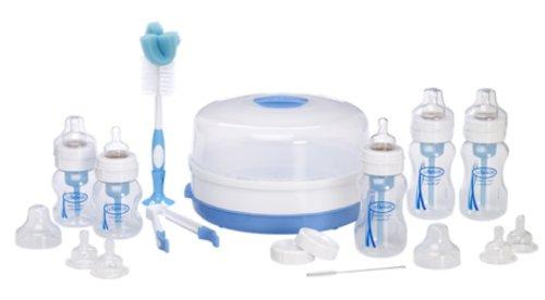 Dr. Brown's - Kit de biberones, color azul (DRB816)