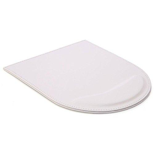 KINGFOM™ Mauspad mit Handauflage , Leder (Weiß)