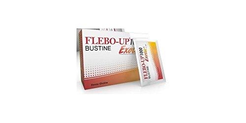 Flebo-Up 1000 Exotic integratore alimentare per la circolazione 18 bustine