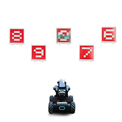jfhrfged Spezielles visuelles Identifikationskarten-Aufnahmezielset, kompatibel für DJI RoboMaster S1-Zubehör