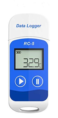 Therm USB-Temperatur Datenlogger Hohe Genauigkeit Datenlogger Temp Recorder 32000 Punkte Kapazität