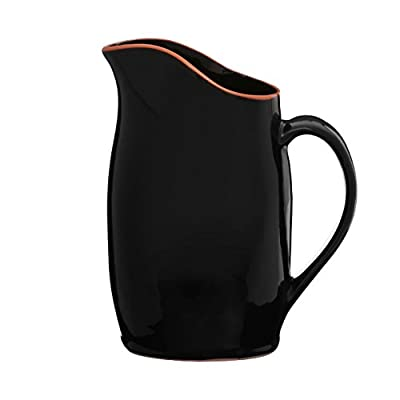 Kitchen Accessories Calisto Black Glazed Terracotta Simple And Stylish from prime furnishing