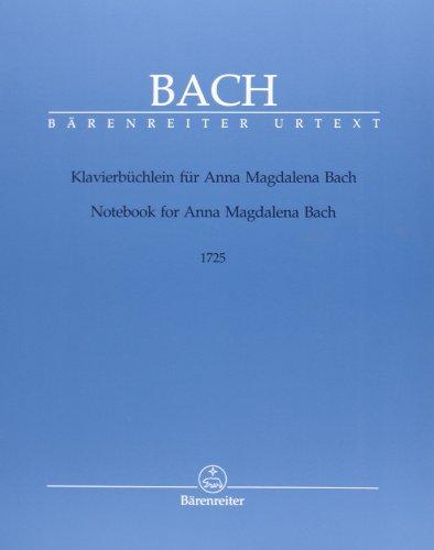Petit livre d'Anna Magdalena Bach (Version de 1725) --- Piano