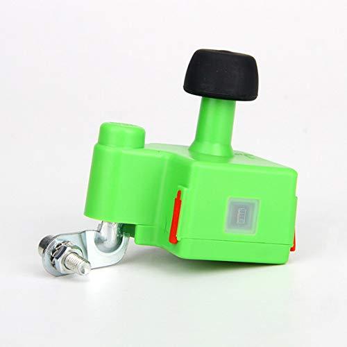 JohnJohnsen Fahrrad Generator Handy-Batterie Wird geladen Auto Generator elektrische Fahrrad-Generator Nachtreitausrüstung (grün) (Elektrischer Generator-fahrrad)