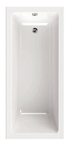 AquaSu 83038 6, Acryl-Wannenset Luxus, 170 x 75 cm, Weiß, Wanne, Badewanne, Bad, Badezimmer, 170x75