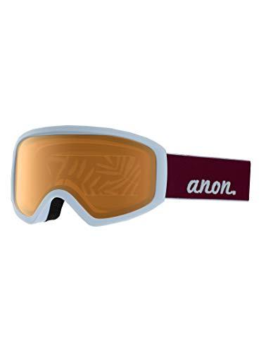 Anon Damen Insight Non Mirror Snowboardbrille, Purple/Amber