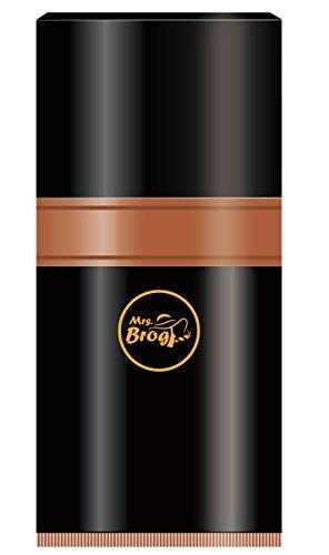 Zigarren-Luftfeuchter für 7 große Zigarren mit integriertem Hygrometer - Aluminium Reise-Luftfeuchter -