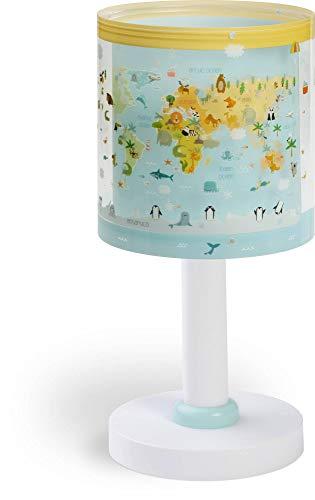 Dalber Baby World Lámpara De Sobremesa Infantil, Multicolor