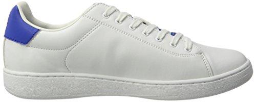 Lotto Sport 1973 V, Sneakers Basses Homme Blanc (Wht/blu Nau)