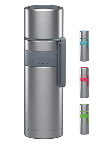 boddels Isolierflasche HEET 500ml (Hellgrau) - Deine Thermoskanne für unterwegs
