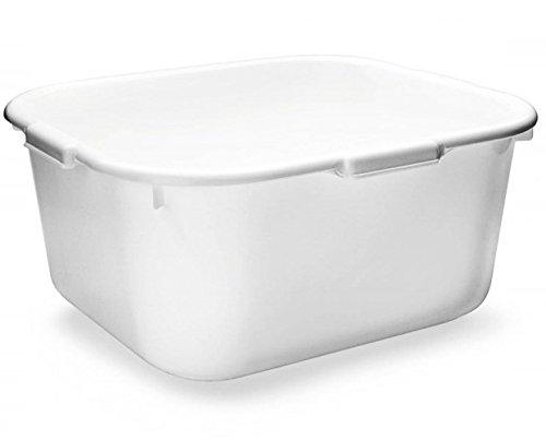 Fußbad, Wasch-Schüssel 39cm, Fuß-Wanne Kosmetex, grau