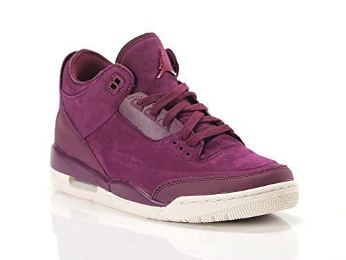 Nike Wmns Air Jordan 3 Retro Se - bordeaux/bordeaux-phantom, Größe:11 (Jordan 11 Retro-schuhe Für Frauen)