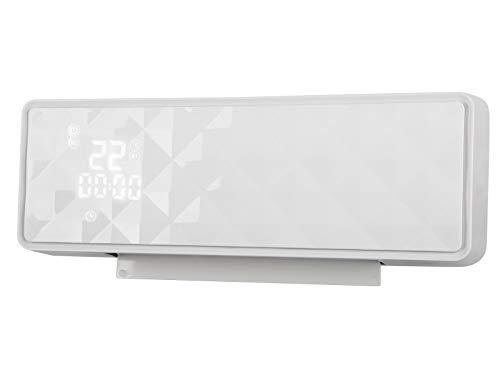PURLINE HOTI M90 Calefactor cerámico de Pared de 2000W. Pantalla Digital. Mando a Distancia. Temporizador...