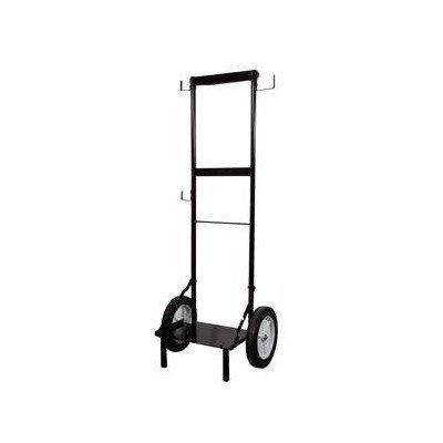 TTulpe® Easy-Up Rollwagen Für Durchlauferhitzer, Schwarz, 119 cm