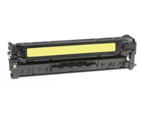 Eurotone Toner Yellow remanufactured für HP cm 2320 (N/NF/FXI) MFP + 2720 FXI MFP + CP 2020 2025 N DN X - Alternative ersetzt CC532A Gelb -
