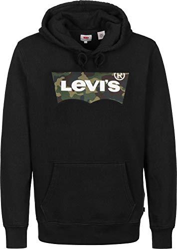 Levi\'s® Herren Hoodies Graphic schwarz L