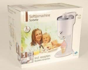Sorbetiere 1l machine a glace italienne livret de - Machine a glace italienne maison ...