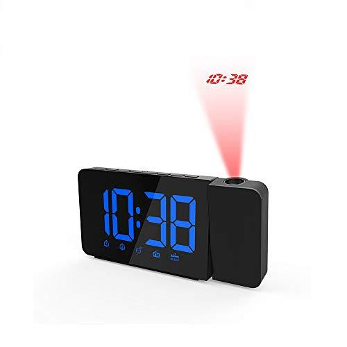 GYHJGSveglia Digitale, Orologio Digitale con Funzione Snooze, Comoda impostazione in Un Minuto, Molto Adatto per la Camera da Letto, Nessuna difficoltà ad alzarsi