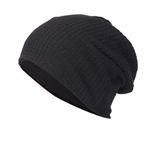 CICIYONER Männer Frau Ausgebeult Warm Häkeln Winter Wolle Stricken Ski Mütze Schädel Slouchy Kappen Hut -