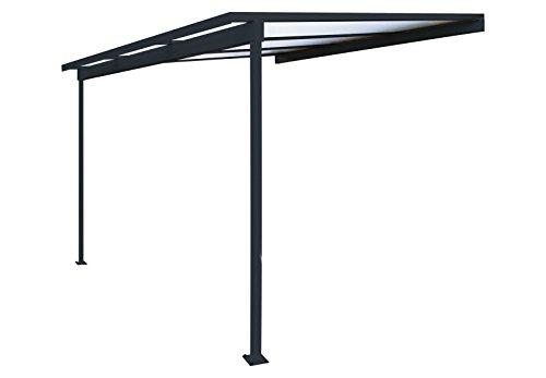 Lot de 10 grilles de protection pour goutti/ères de 100 /à 125 mm Longueur 2 m Noir