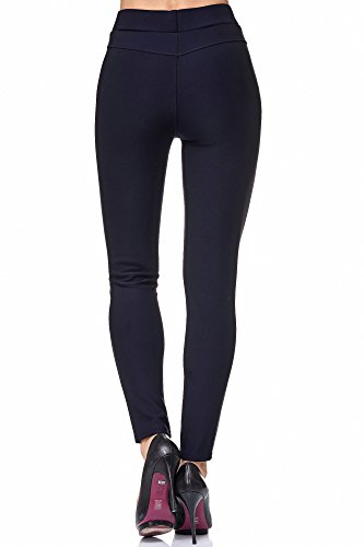 JillyMode -  Pantaloni  - Donna H104-Marine