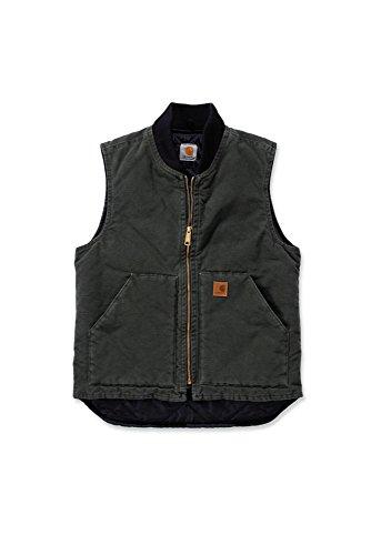 Preisvergleich Produktbild Carhartt V02 Sandstone Vest Arctic Quilt Lined - Weste (XXL, moosgrün)