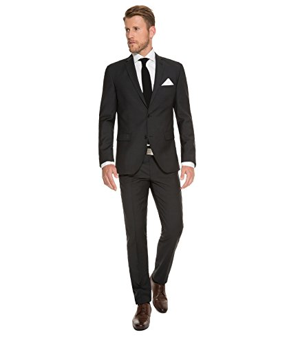 Michaelax-Fashion-Trade - Costume - Uni - Manches Longues - Homme Noir - Noir